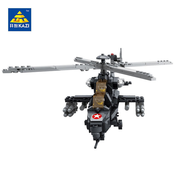 KAZI KY 98405 Military Helicopter - Your World of Building Blocks