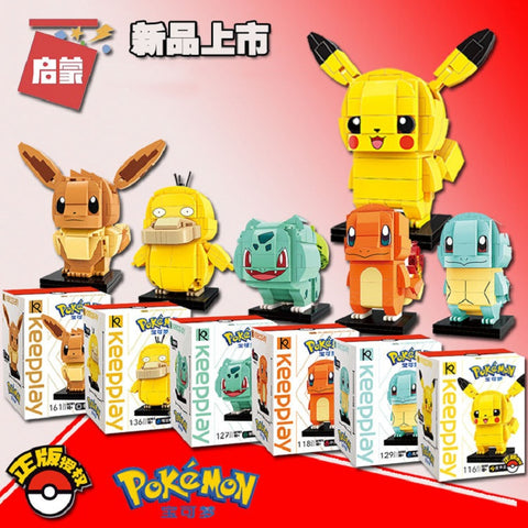 ENLIGHTEN A0101-A0106 Pokemon - Your World of Building Blocks