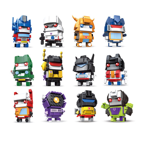 DECOOL 6859-6870 Transformers - Your World of Building Blocks