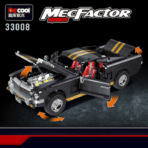 Decool 33008 GT350 Racing Car