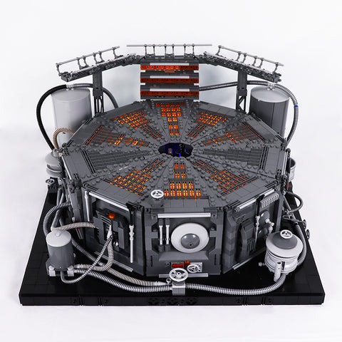 MOC 12879 Carbon Freeze Chamber - Your World of Building Blocks