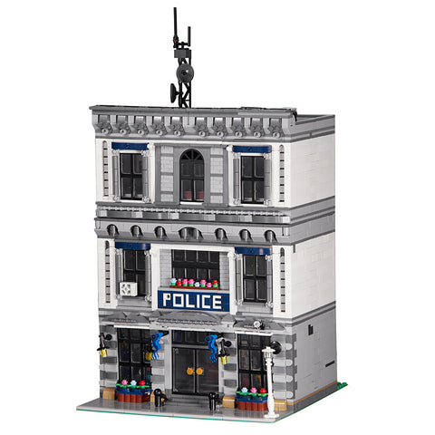MOC 21474 Police Station - Your World of Building Blocks