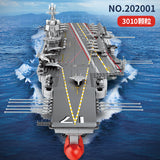 SEMBO 202001 PLA NAVY ShangDong Aircraft Carrier with LEDs - Your World of Building Blocks