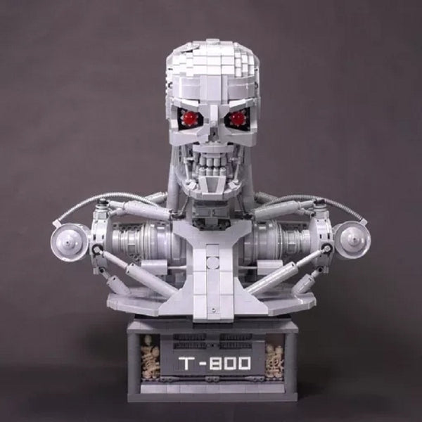 MOC 20570 Terminator T800 bust - Your World of Building Blocks