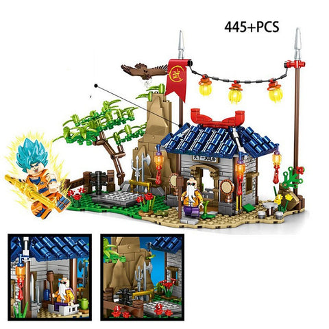 SY 1404 Goku and Master Oogway - Your World of Building Blocks