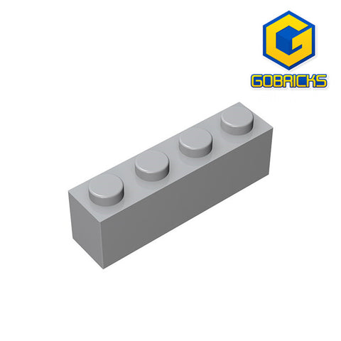 GOBRICKS GDS-534 Brick 1 x 4 - Your World of Building Blocks