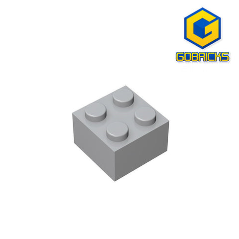 GOBRICKS GDS-540 Brick 2 x 2 - Your World of Building Blocks