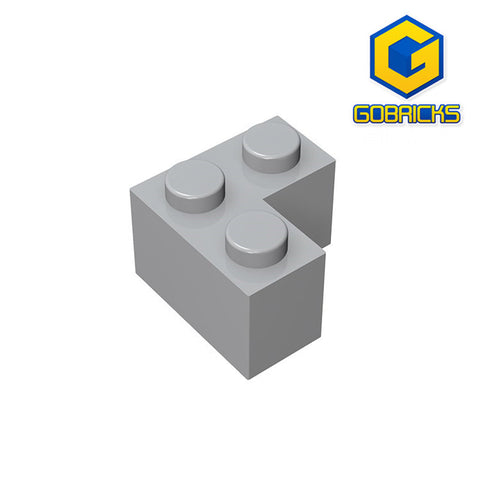 GOBRICKS GDS-572 Brick 2 x 2 Corner - Your World of Building Blocks