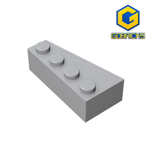 GOBRICKS GDS-593 Wedge 4 x 2 Right - Your World of Building Blocks