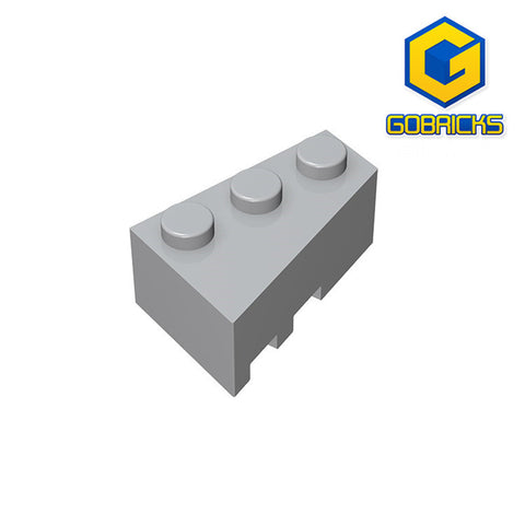 GOBRICKS GDS-595 Wedge 3 x 2 Right - Your World of Building Blocks