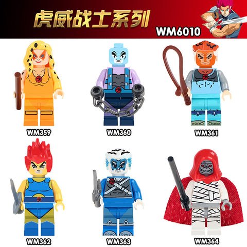 WM Tiger Warrior Minifigures - Your World of Building Blocks