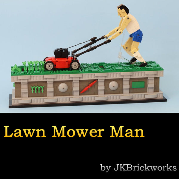 MOC Lawn Mower Man - Your World of Building Blocks