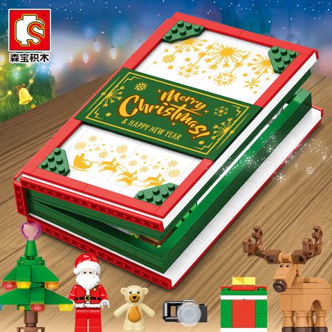 SEMBO 601094 Christmas Story Book - Your World of Building Blocks