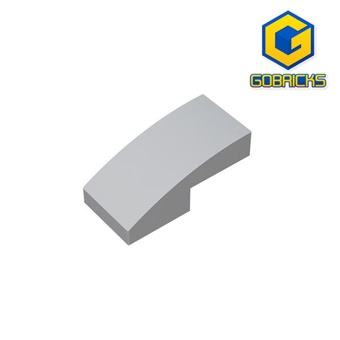 GOBRICKS GDS-656 Slope, Curved 2 x 1