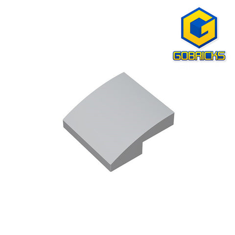 GOBRICKS GDS-659 Slope, Curved 2 x 2
