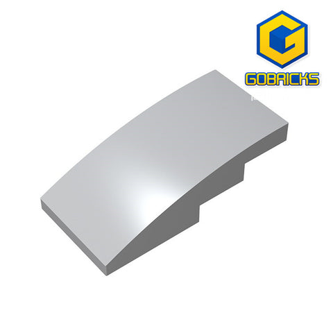 GOBRICKS GDS-660 Slope, Curved 4 x 2