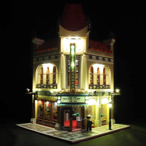 DIY LED Light Up Kit For Cinema Lepin 15006 - Your World of Building Blocks