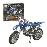 WINNER 7045 The off-road Motorbike - Your World of Building Blocks