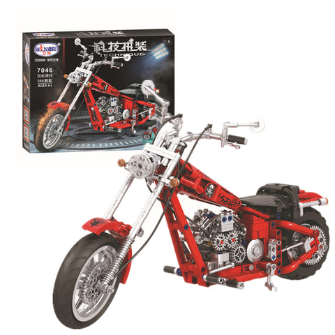 WINNER 7046 The Cruising motorcycle - Your World of Building Blocks