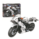 WINNER 7047 The Sports Street Motorcycle - Your World of Building Blocks