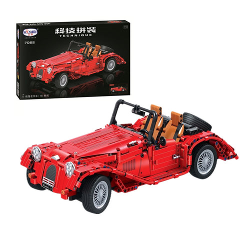 WINNER 7062 The Red Convertible Car - Your World of Building Blocks