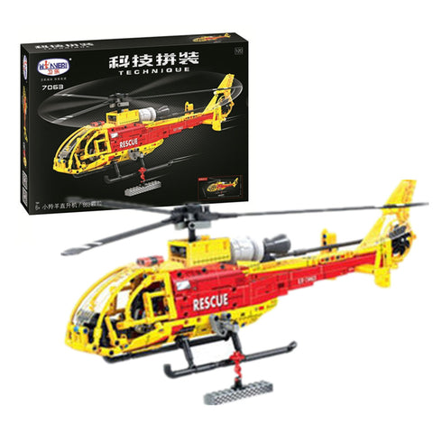 WINNER 7063 The Gazelle Helicopter - Your World of Building Blocks