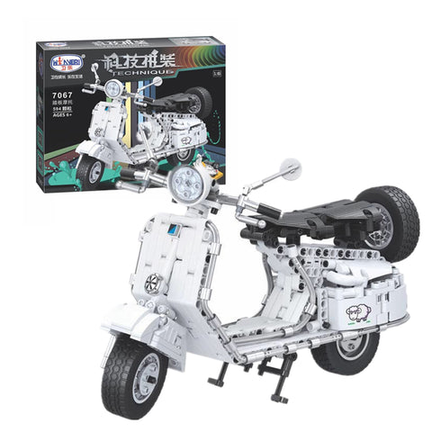 WINNER 7067 The Pedal Motorcycle - Your World of Building Blocks
