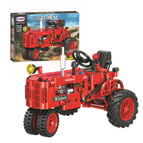 WINNER 7070 The Classical Old Tractor - Your World of Building Blocks