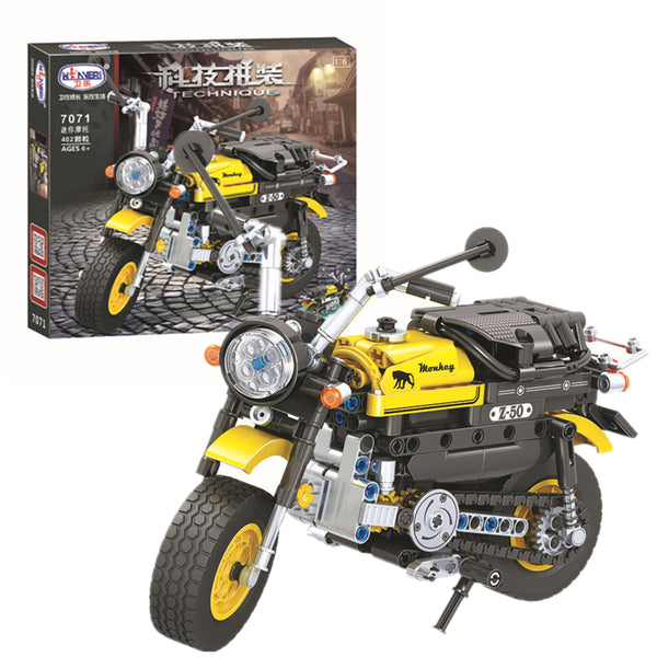 WINNER 7071 The Mini monkey Motorcycle - Your World of Building Blocks