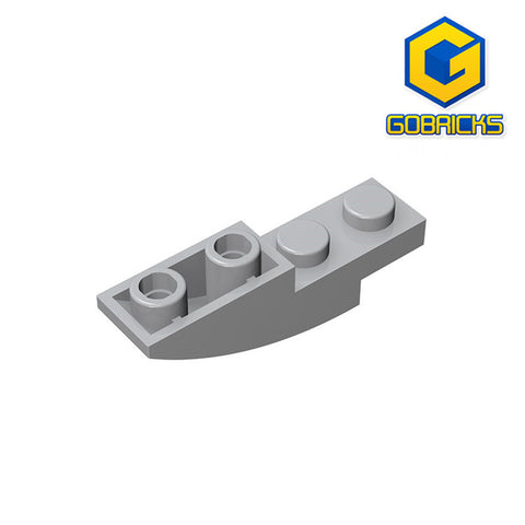 GOBRICKS GDS-731 Slope, Curved 4 x 1 Inverted