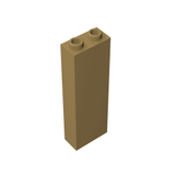 GOBRICKS GDS-740 Brick 1 x 2 x 5 - Blocked Open Studs or Hollow Studs - Your World of Building Blocks