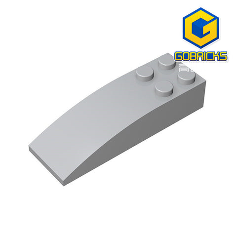 GOBRICKS GDS-753 Slope, Curved 6 x 2