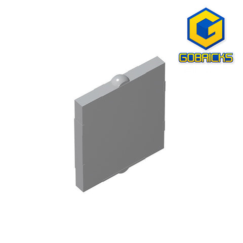 GOBRICKS GDS-791 Glass for Window 1 x 2 x 2 Flat Front