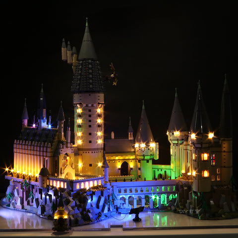 Fantasy Version DIY LED Light Kit For Magic Castle School 16060 - Your World of Building Blocks