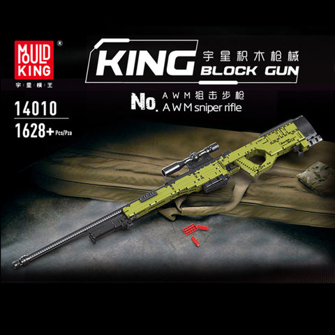 Mould King 14010 AWM Sniper Rifle