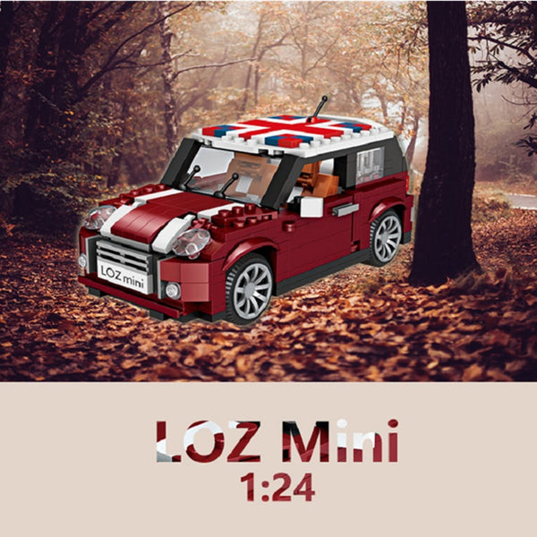 LOZ 1111 1:24 Mini Cooper Car - Your World of Building Blocks