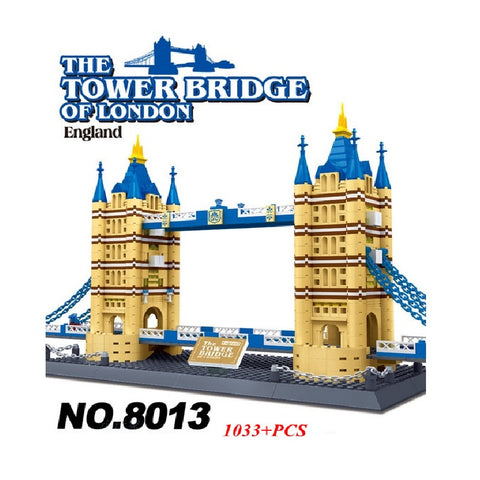 WANGE 8013 The London Tower Bridge - Your World of Building Blocks