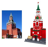 WANGE Building Series No.8017 The Spasskaya Tower Of Moscow KREMLIN Set - Your World of Building Blocks