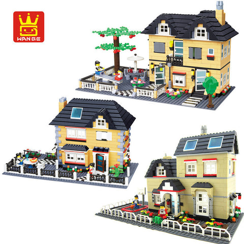WANGE 34051-34053 Villa Garden - Your World of Building Blocks