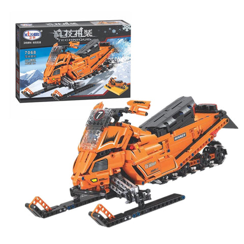 WINNER 7068 The Turbo Snowmobile Moto - Your World of Building Blocks