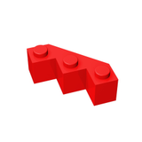 GOBRICKS GDS-862 Brick, Modified Facet 3 x 3 - Your World of Building Blocks