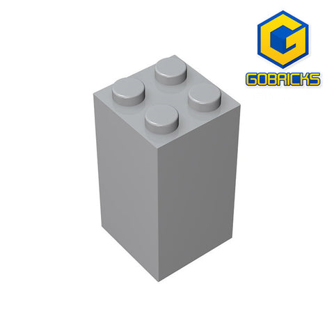 GOBRICKS GDS-867 Brick 2 x 2 x 3 - Your World of Building Blocks