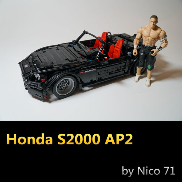 MOC 24500 Honda S2000 AP2 - Your World of Building Blocks