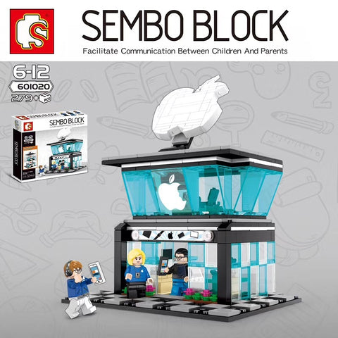 Sembo 601020 Iphone Store - Your World of Building Blocks