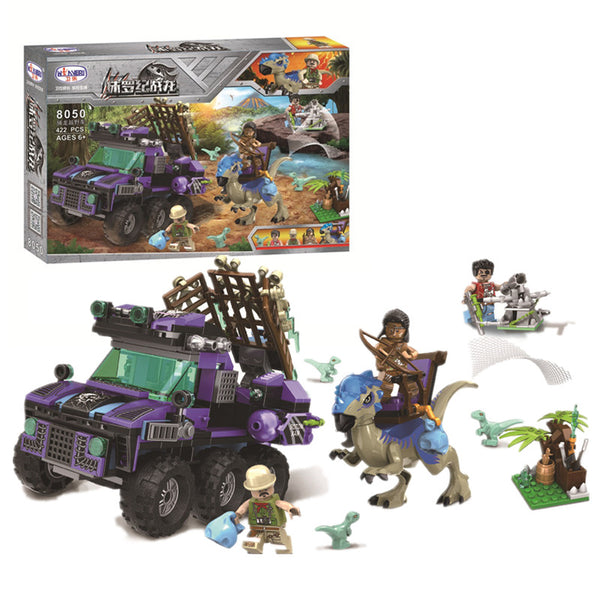 WINNER 8050 Dinosaur Capture SUV - Your World of Building Blocks