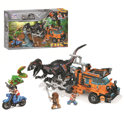 WINNER 8052 Dinosaur Capture Truck - Your World of Building Blocks