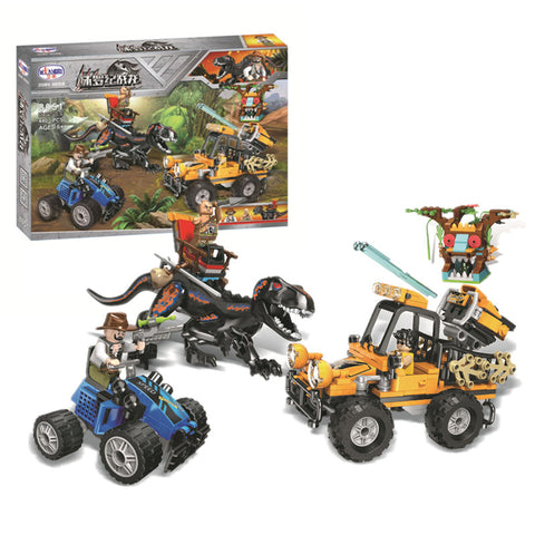 WINNER 8051 Dinosaur Capture Jeep - Your World of Building Blocks