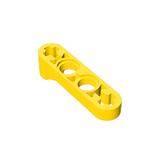 GOBRICKS GDS-967 Liftarm 1 x 4 Thin with Stud Connector - Your World of Building Blocks