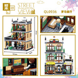 ZHEGAO QL0936 Rome Restaurants - Your World of Building Blocks