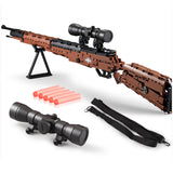 CADA C61010 98K Mauser rifle - Your World of Building Blocks